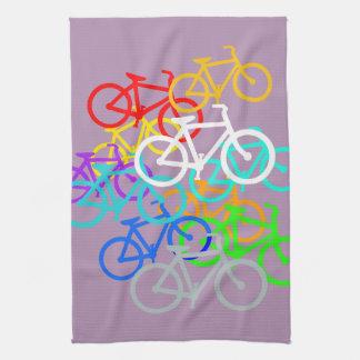 Bicycles Tea Towel