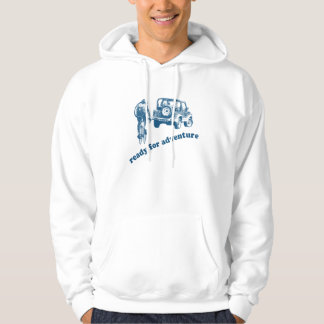 Bicyclist and Motorist are ready for adventure Pullover