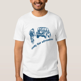 Bicyclist and Motorist are ready for adventure Shirt