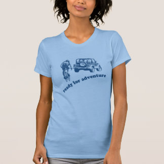 Bicyclist and Motorist are ready for adventure Shirts