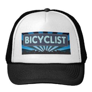 Bicyclist Marquee Trucker Hat