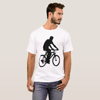 Bicyclist Silhouette T-Shirt