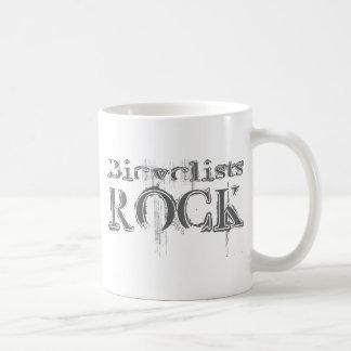 Bicyclists Rock Coffee Mug