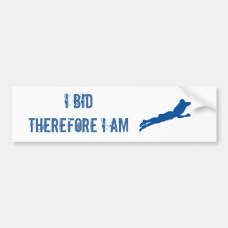 Bid Bumper Sticker