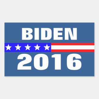 Biden 2016 Presidential Election Campaign Rectangular Sticker