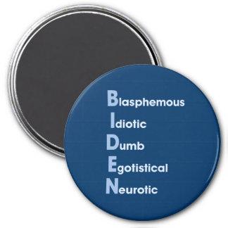 Biden Acronym Magnet