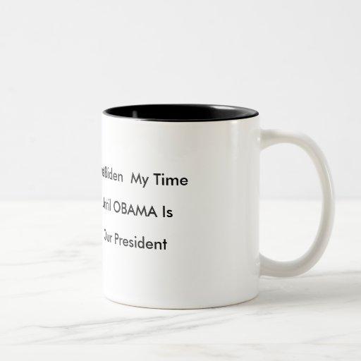 Biden Time, Obama President Mug