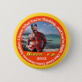 Biden, v.p. 2 6 cm round badge
