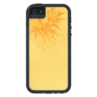 Biege Japanese Maple leaves. iPhone 5 Covers
