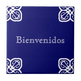 Bienvenidos Sign Tile