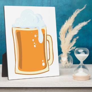 Bier beer plaque