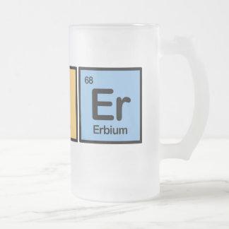 Bier made of Elements Coffee Mug