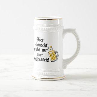 Bier schmeckt nicht nur zum Frühstück! Beer Stein