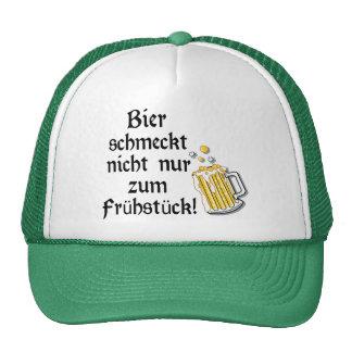 Bier schmeckt nicht nur zum Frühstück! Cap