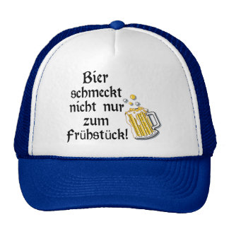 Bier schmeckt nicht nur zum Frühstück! Hats