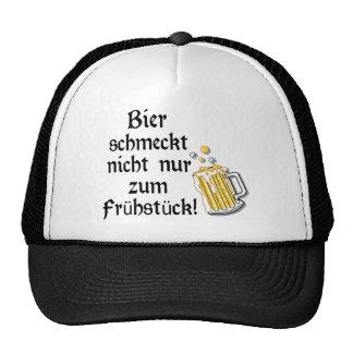 Bier schmeckt nicht nur zum Frühstück! Mesh Hats