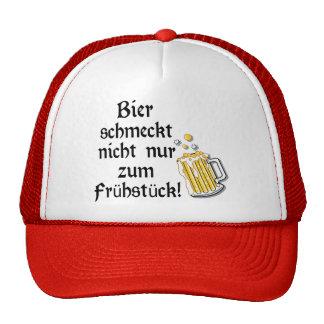 Bier schmeckt nicht nur zum Frühstück! Mesh Hat