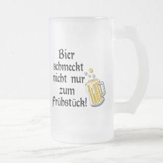 Bier schmeckt nicht nur zum Frühstück! Mug