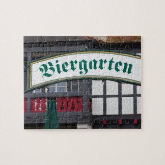 Biergarten sign, Germany Puzzle