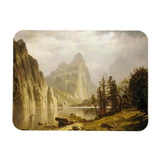 Bierstadt Albert Merced River Yosemite Valley Magnet