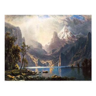 Bierstadt Lake Tahoe Postcard