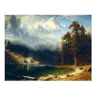 Bierstadt Mount Corcoran Postcard