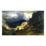 Bierstadt Storm in the Rocky Mountains