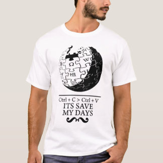 biet : wikipedia Save my Days T-Shirt