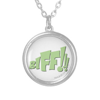 BIFF!!! SILVER PLATED NECKLACE
