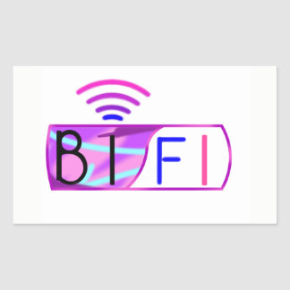 Bifi Bisexual pride Rectangular Sticker