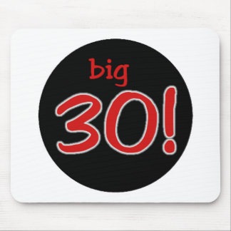 Big 30 mouse pad