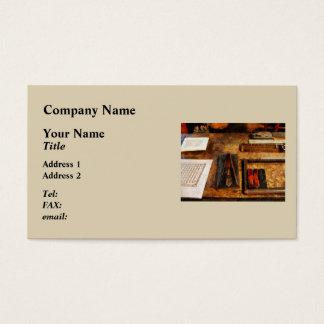 "Big ""A"" Business Card"