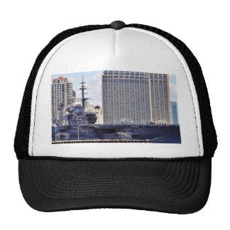 Big Aircraft Carrier Ship Trucker Hat