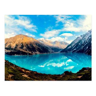 Big Almaty Lake - Kazakhstan Postcard