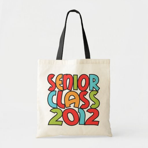 BIG and BOLD Senior Class 2012 Tote Bags
