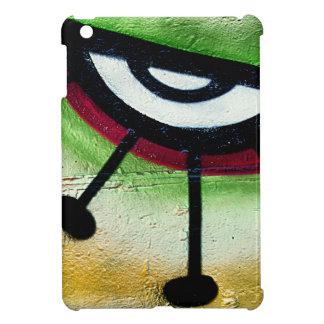 Big and colorful eye graffitti. cover for the iPad mini
