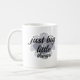 Big and Little Mugs