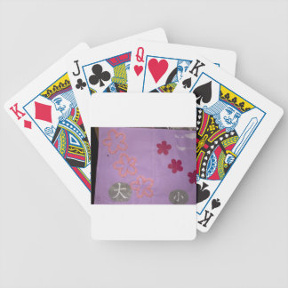 big and small bicycle playing cards