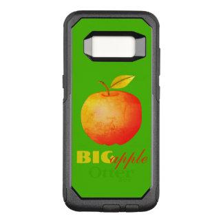 Big Apple Neon Green Cartoon Vibrant Modern Chic OtterBox Commuter Samsung Galaxy S8 Case