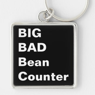 BIG BAD BEANCOUNTER - Financial Director Nickname Key Ring