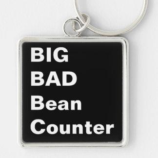 BIG BAD BEANCOUNTER - Humorous Accountant Gift Key Ring