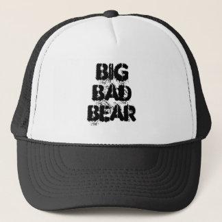 Big Bad Bear Grunge Trucker Hat