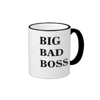 Big Bad Boss Big Bad Boss Scary Boss Mug!