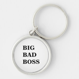 Big Bad Boss Scary Boss Name Keyring or Keychain