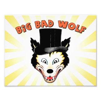 Big Bad Wolf Character Print Photograph