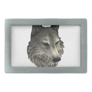 Big Bad Wolf Rectangular Belt Buckle