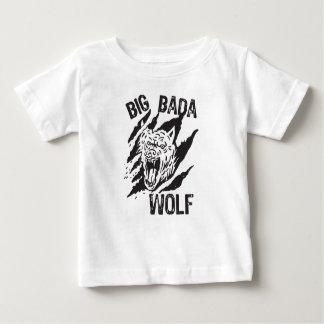 Big Bada Wolf Paw Scratches Baby T-Shirt