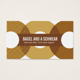 Big Bagels Business Card