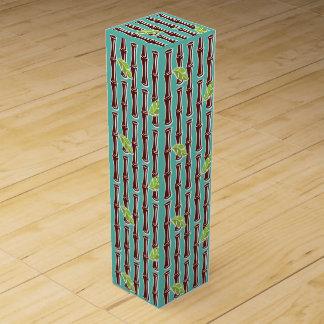 Big Bamboo - Aqua - Wine Box