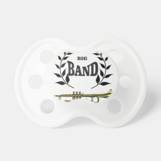 big band trumpet baby pacifier